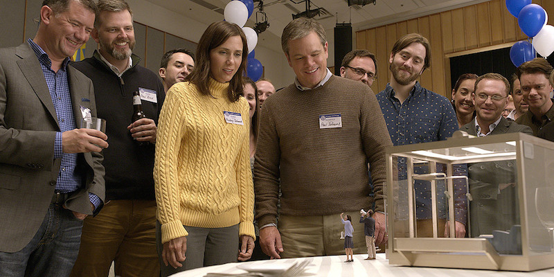 Matt Damon and Kristen Wiig in Downsizing