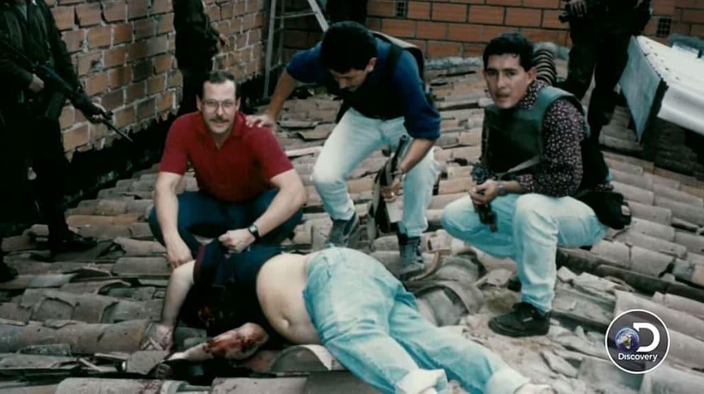 The death of Pablo Escobar
