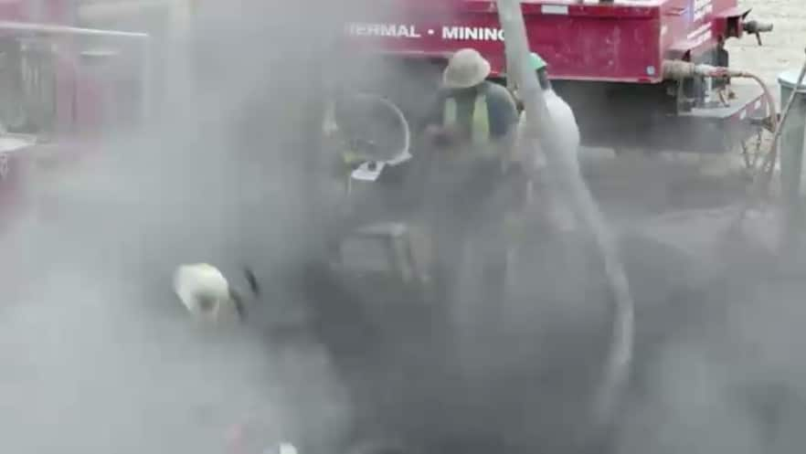 Explosion of the high-pressure hose