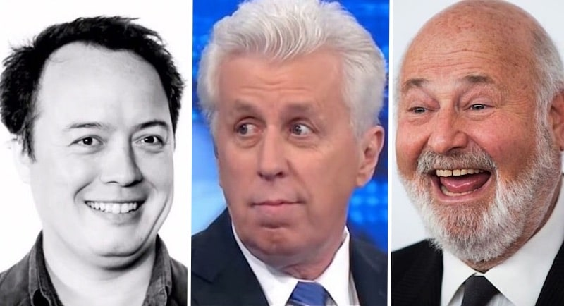 Graeme Wood, Jeffrey Lord and Rob Reiner