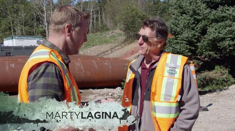 Marty Lagina and Matty Blake