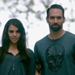 Nick Groff and Elizabeth Saint in a TheHaunted.Space promotional photo