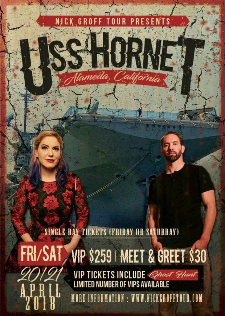 Nick Groff USS Hornet Poster