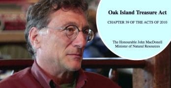 Marty Lagina and the Oak Island Treasure Act