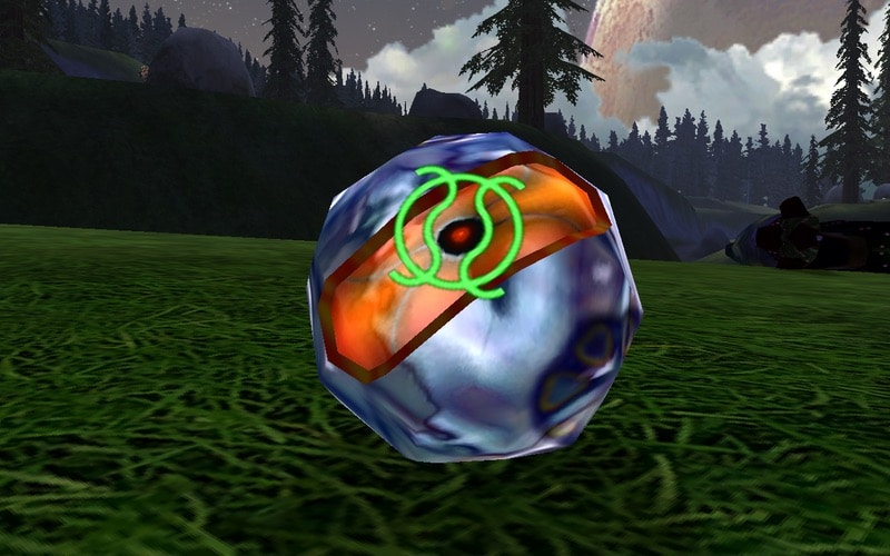 A plasma grenade in Halo: Combat Evolved