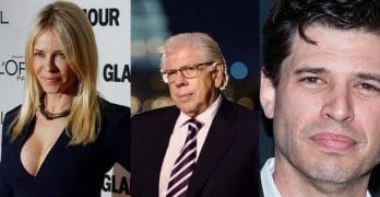 Chelsea Handler, Carl Bernstein and Max Brooks