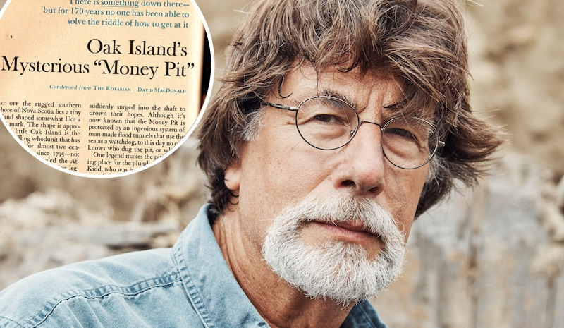 Rick Lagina on The Curse of Oak Island Season 5 and a segment of the Reader's Digest article that inspired him