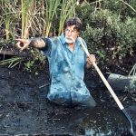Rick Lagina in the swamp in a promotional photo for The Curse of Oak Island Season 5