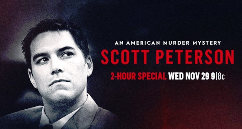 The poster for Scott Peterson: An American Murder Mystery