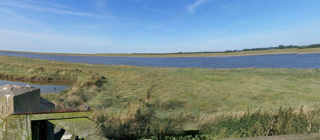 The area is more managed now but was a treacherous place with mud flats, fens and fast moving tides in John's day