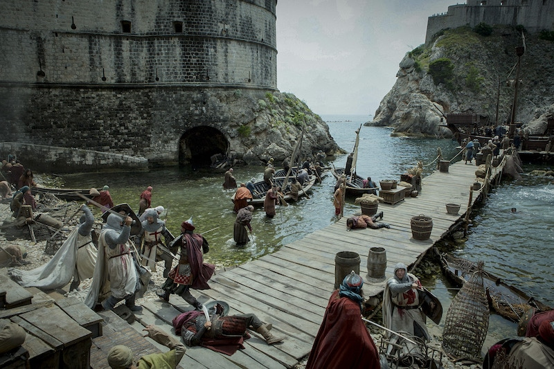 The Battle of Acre from HISTORY's New Drama Series Knightfall.