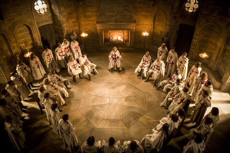 The Order of The Knights Templar from HISTORY's New Drama Series Knightfall.