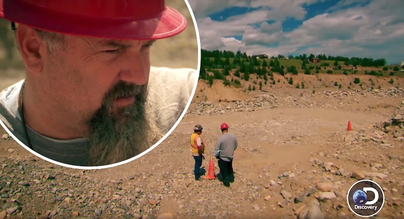Todd and Freddie at Fairplay on Gold Rush