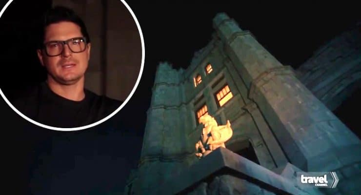 'There was a lot of death here': Zak Bagans heads inside terrifying Pythian Castle on Ghost Adventures