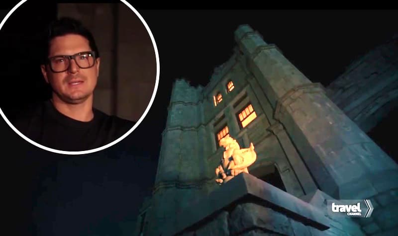 Zak Bagans and Pythian Castle on Ghost Adventures