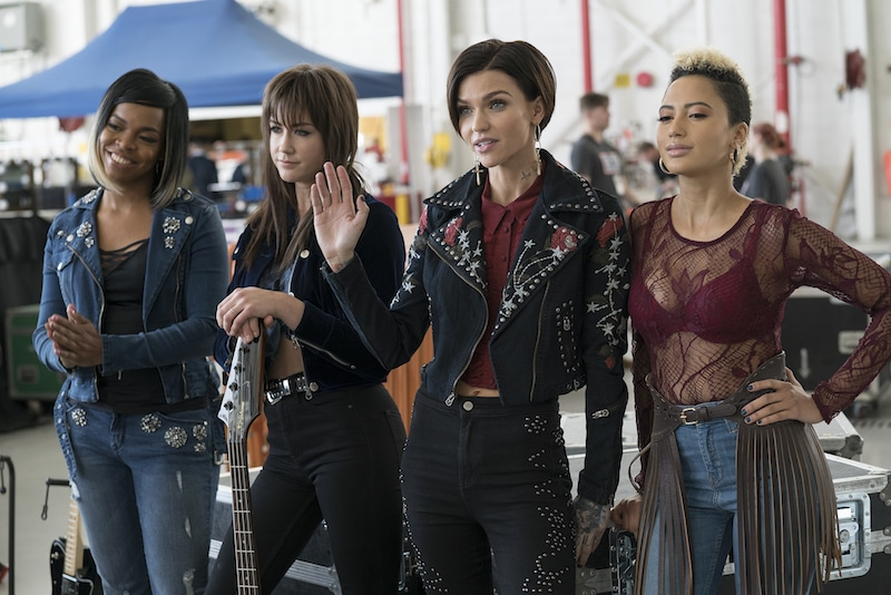 Rock n' roll band Evermoist in Pitch Perfect 3