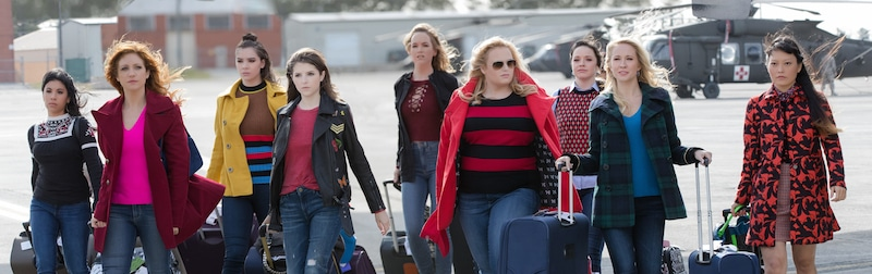 Bellas in Pitch Perfect 3