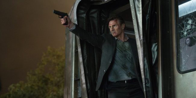 Liam Neeson is The Commuter