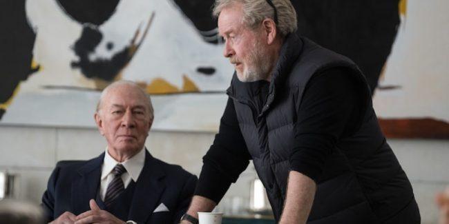 Christopher Plummer and Ridley Scott