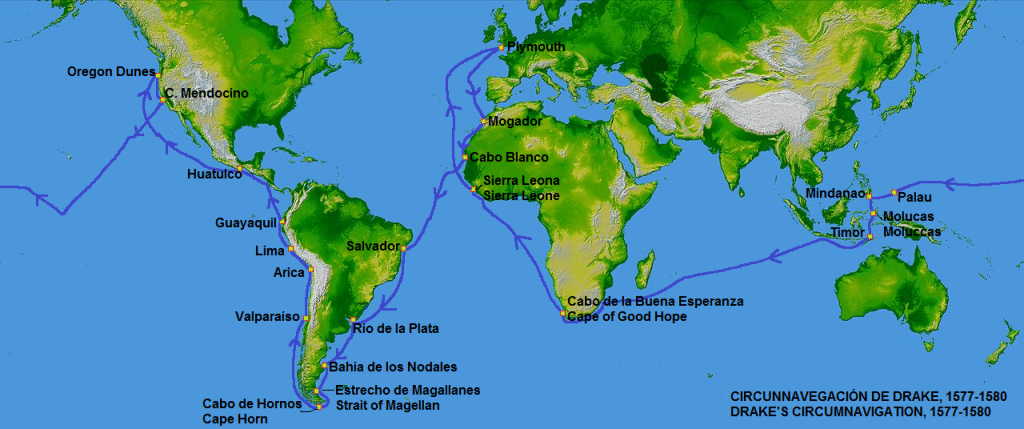 circumnavigation of the world