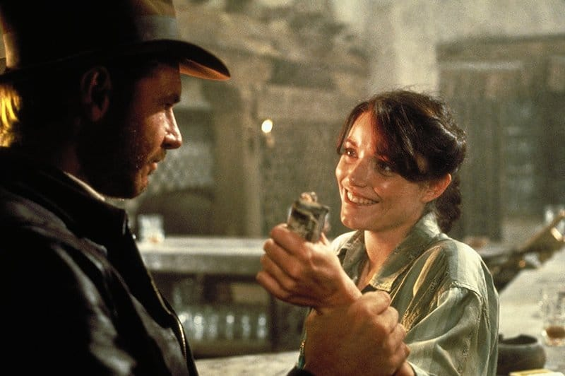 Indiana Jones and Marion
