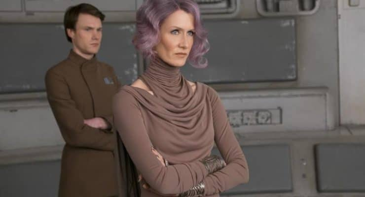 Star Wars: The Last Jedi's women 'lead with a very deep femininity,' says Laura Dern