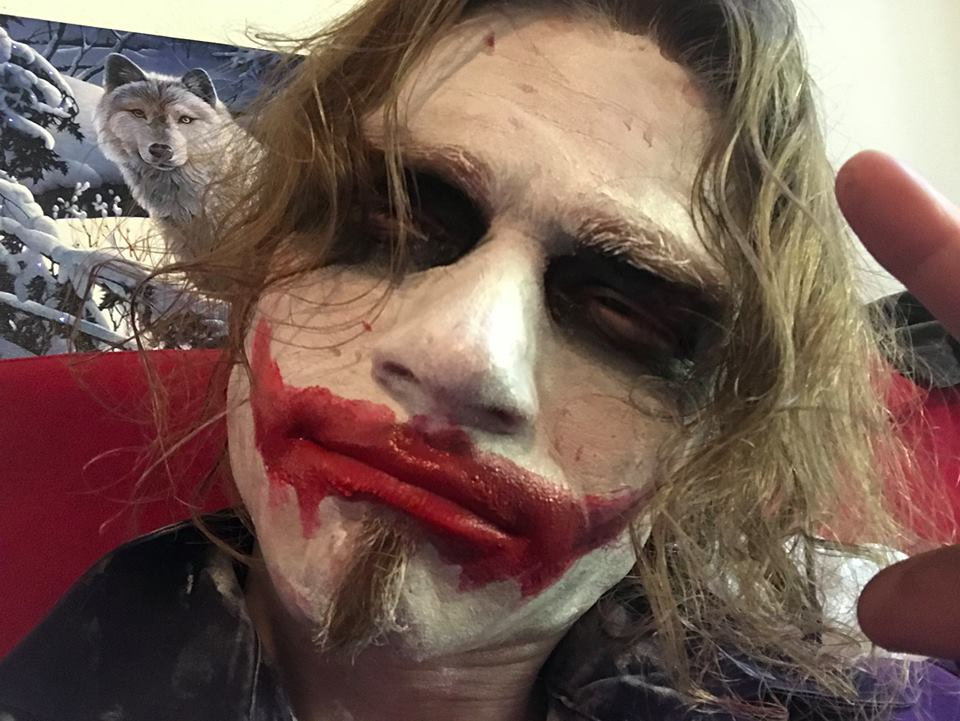 Bear Brown from Alaskan Bush People as the Joker