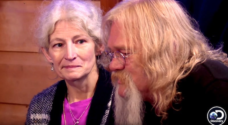 Ami Brown and Billy Brown on Alaskan Bush People Christmas special
