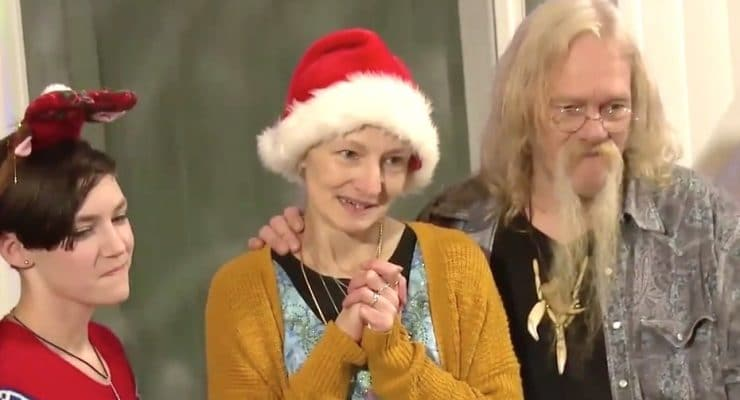 Alaskan Bush People exclusive: Smiling Ami Brown is showered with love in trailer for Christmas special