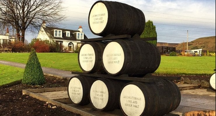 The Auchentoshan distillery tour is the ultimate whisky experience…and wait till you try the end result