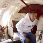 Shad Moss inside private jet on Growing Up Hip Hop: Atlanta Season 2