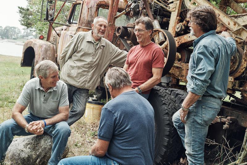Craig Tester, Dan Henskee, Dave Blankenship, Marty Lagina, Rick Lagina