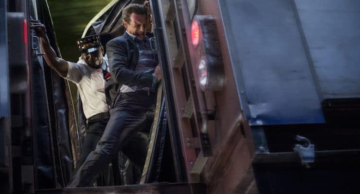 The Commuter director Jaume Collet-Serra on Robocop's name and the fake train