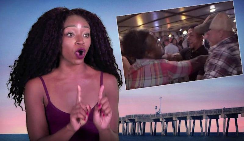 Candace and the brawl on MTV Floribama Shore