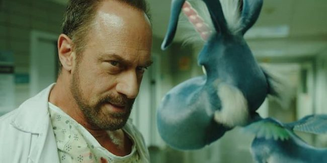 Happy! on Syfy is the madcap story of a disgraced detective and his imaginary perky blue horse