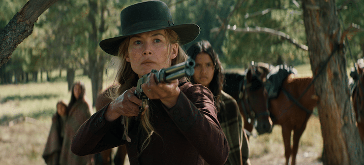 Exclusive interview: Rosamund Pike on the hard and very upsetting work of Hostiles