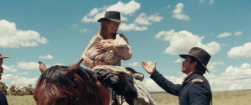 Rosamund Pike in Hostiles