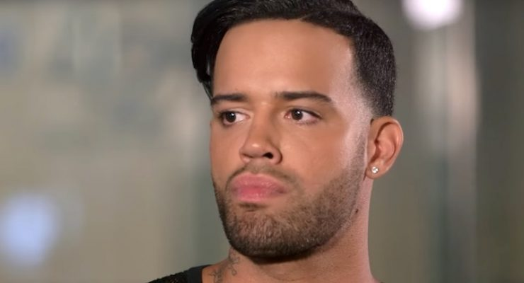 Jonathan Fernandez suspects boyfriend Trent Crews is cheating on Love & Hip Hop