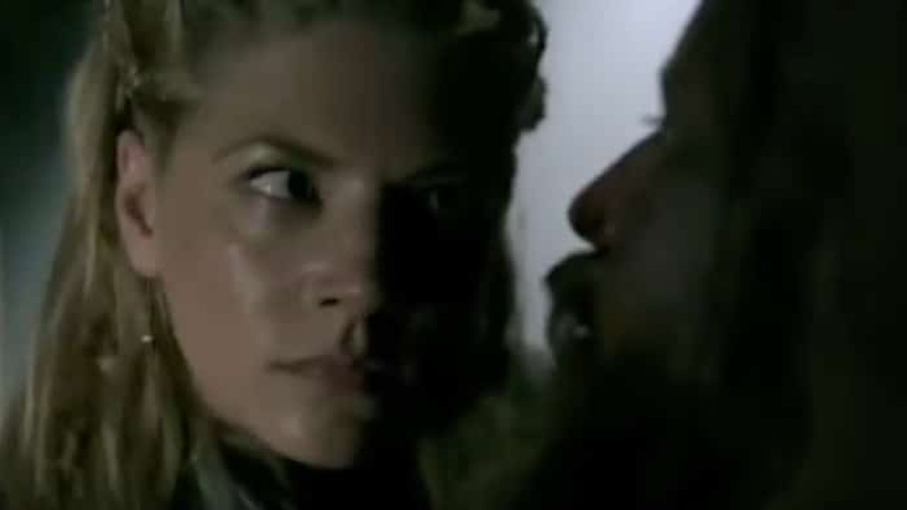 Did Queen Lagertha rape King Harald on Vikings?