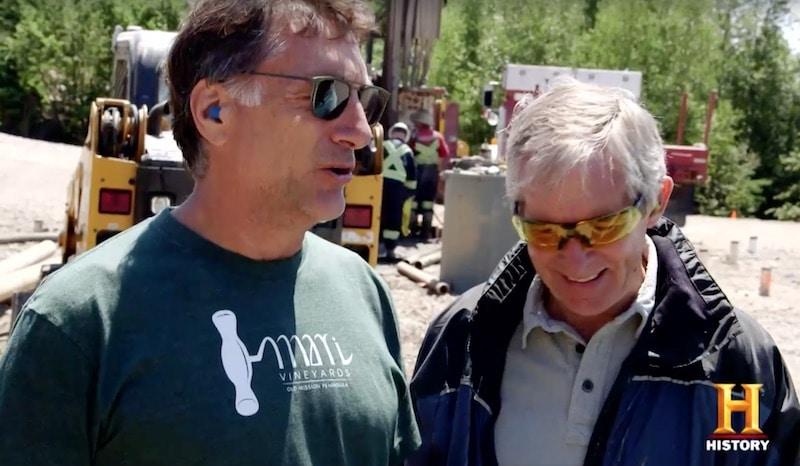 Marty Lagina and Craig Tester on The Curse of Oak Island
