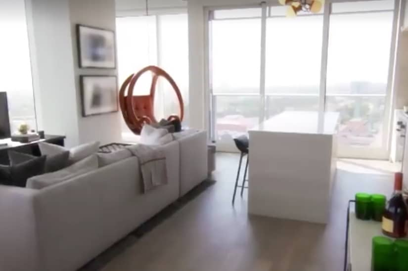 Million Dollar Listing inside apartment in amazing building