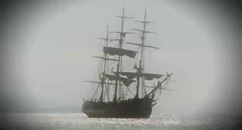 Vessel at sea