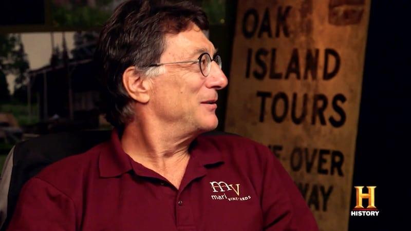 Marty Lagina on The Curse of Oak Island