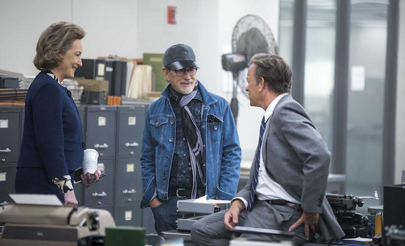 Steven Spielberg, Meryl Streep and Tom Hanks - The Post