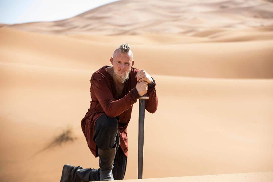 Bjorn in the desert