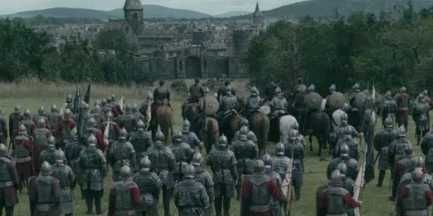 The Saxons outside York
