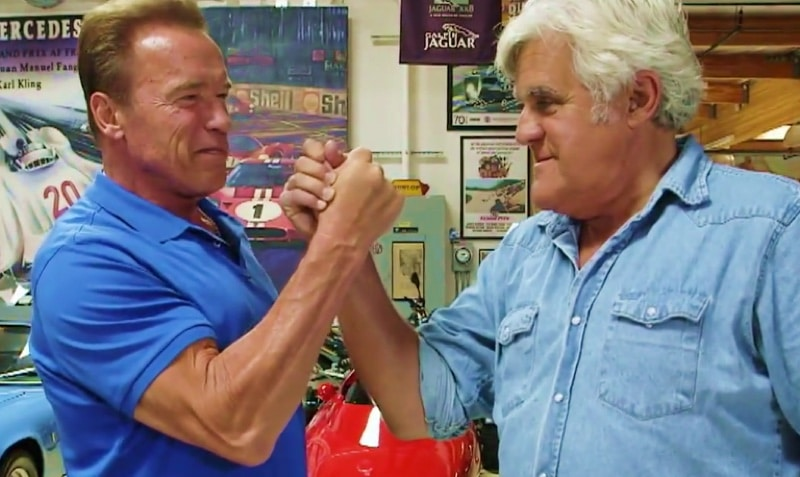 Watch as Arnold Schwarzenegger shows off his electric G ...