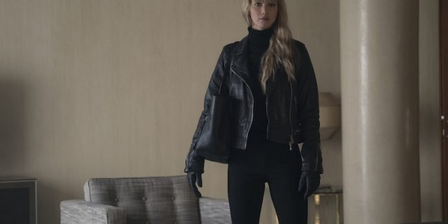 Jennifer Lawrence is Red Sparrow