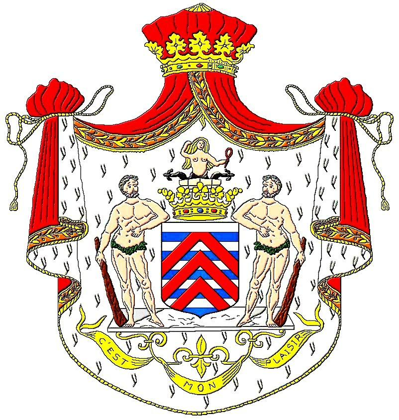 Coat of arms of the ducs de La Rochefoucauld
