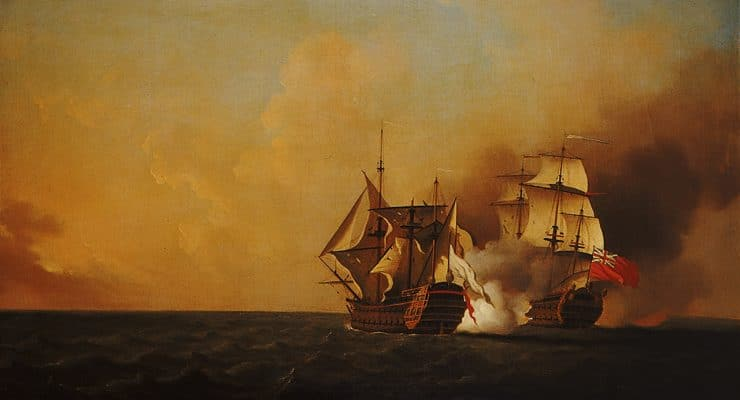 What was the Duc d'Anville expedition and how does it relate to The Curse of Oak Island?